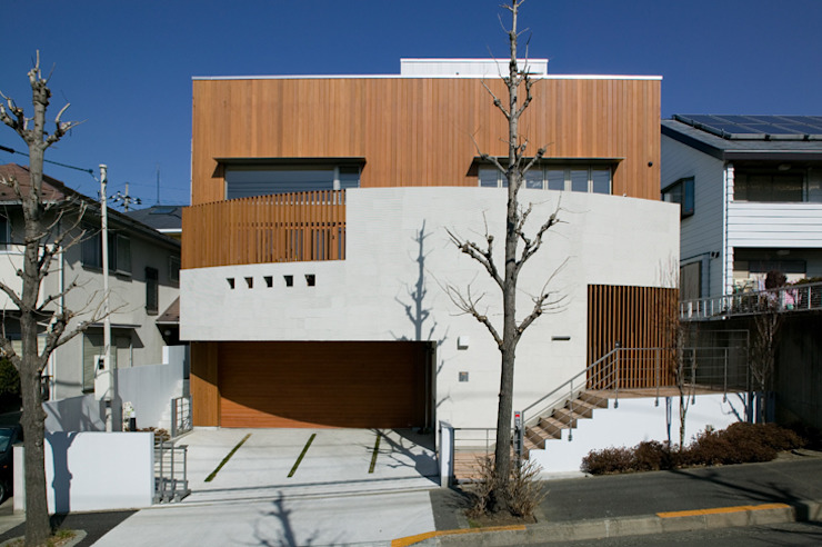 Eclectic style houses by 田代計画設計工房 Eclectic