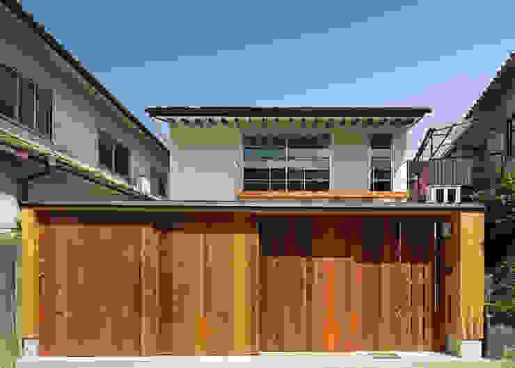 南側正面 オリジナルな 家 の 河合建築デザイン事務所 オリジナル