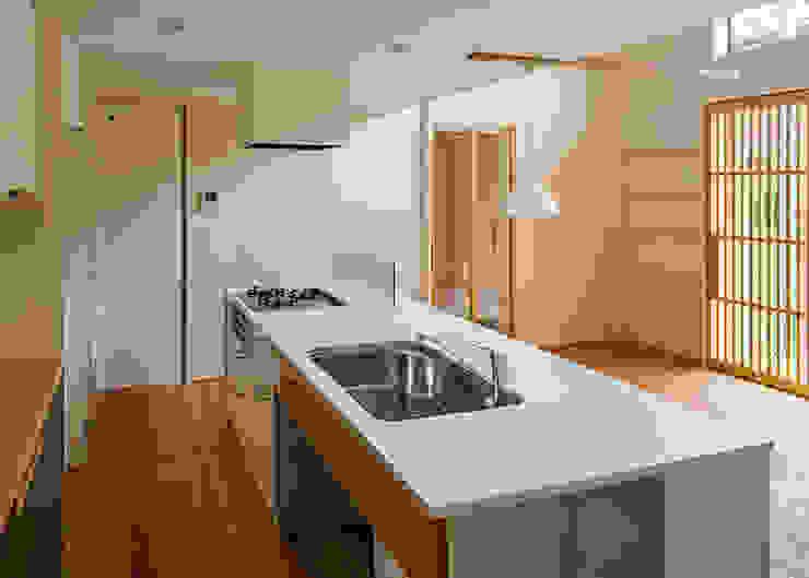 上高野の家 オリジナルデザインの キッチン の 河合建築デザイン事務所 オリジナル