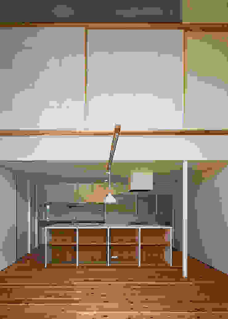 広間・台所 オリジナルデザインの ダイニング の 河合建築デザイン事務所 オリジナル
