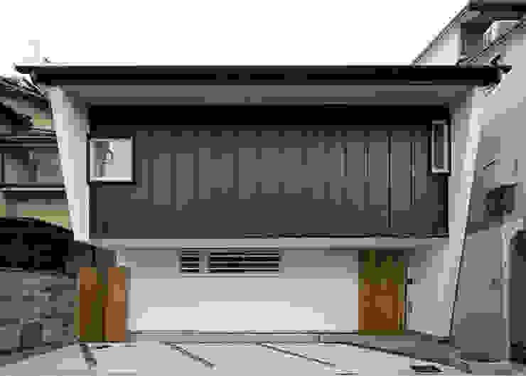 北側外観 オリジナルな 家 の 河合建築デザイン事務所 オリジナル