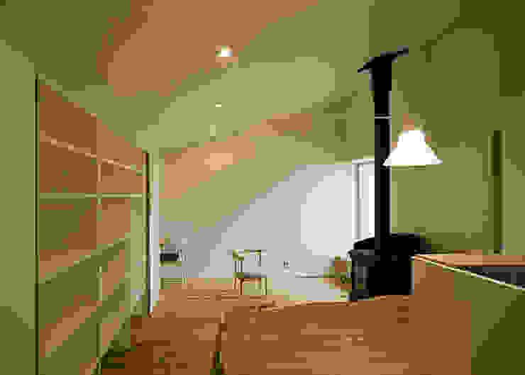 広間 オリジナルデザインの リビング の 河合建築デザイン事務所 オリジナル
