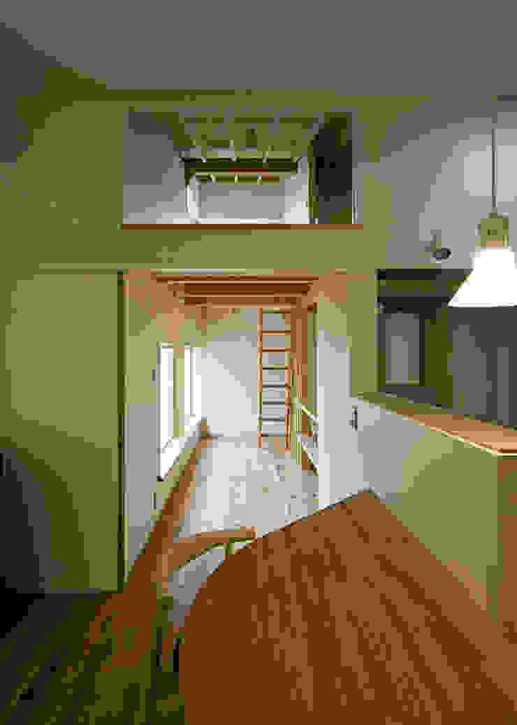 広縁とロフト オリジナルスタイルの 玄関&廊下&階段 の 河合建築デザイン事務所 オリジナル