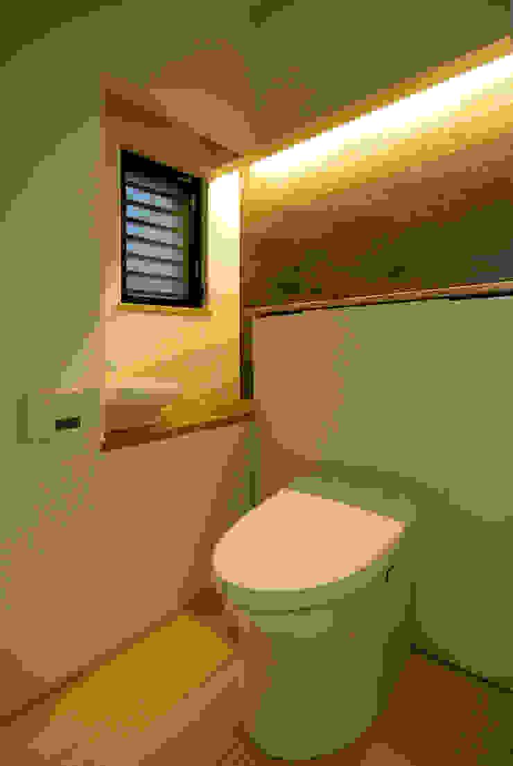 内膳町の家 モダンスタイルの お風呂 の アトリエ イデ 一級建築士事務所 モダン