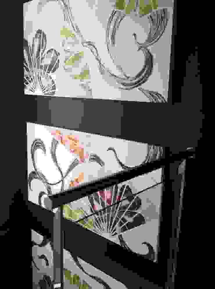 Murales Divinos Modern corridor, hallway & stairs