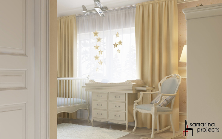 Classic style nursery/kids room by Samarina projects Classic