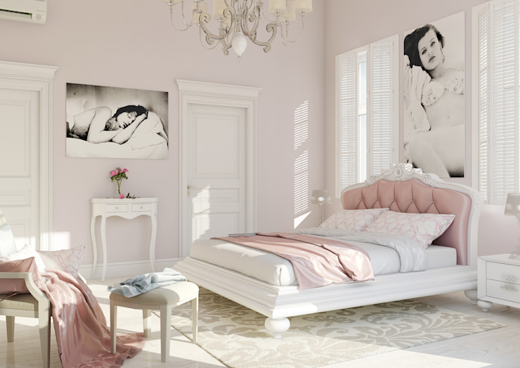 Bedroom by Samarina projects, Classic
