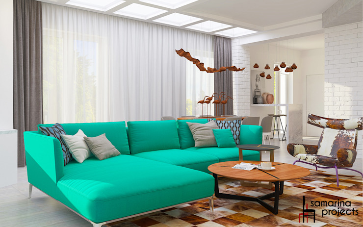 Samarina projects Living room