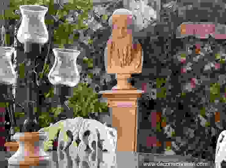 Terraza de inspiración griega arcaica de Decorarconarte.com Clásico