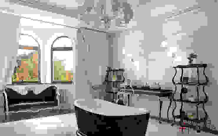 """Дизайн коттеджа """"Владение снежной королевы"""" Ванная в классическом стиле от Samarina projects Классический"""