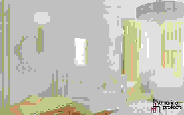 """Дизайн загородного дома """"Классический аквамарин"""" Детская комнатa в классическом стиле от Samarina projects Классический"""