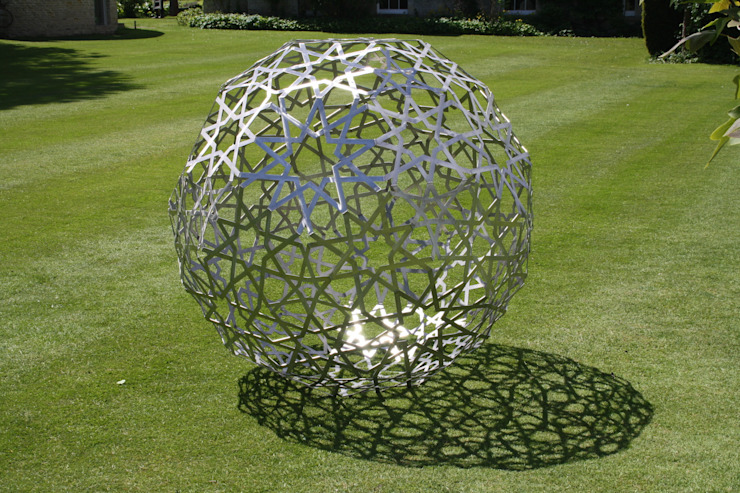 Islamic Sculpture Jardins modernos por Pete Moorhouse Ltd Moderno