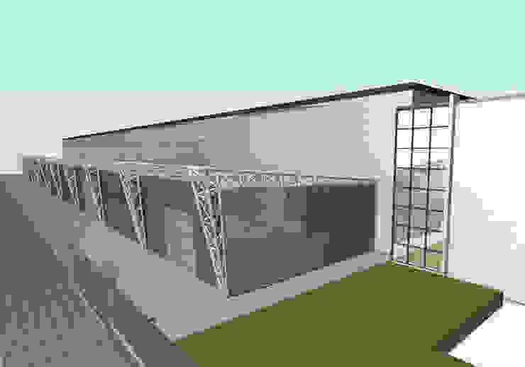 Studio Ing. Elisa Zubani Industrial style houses
