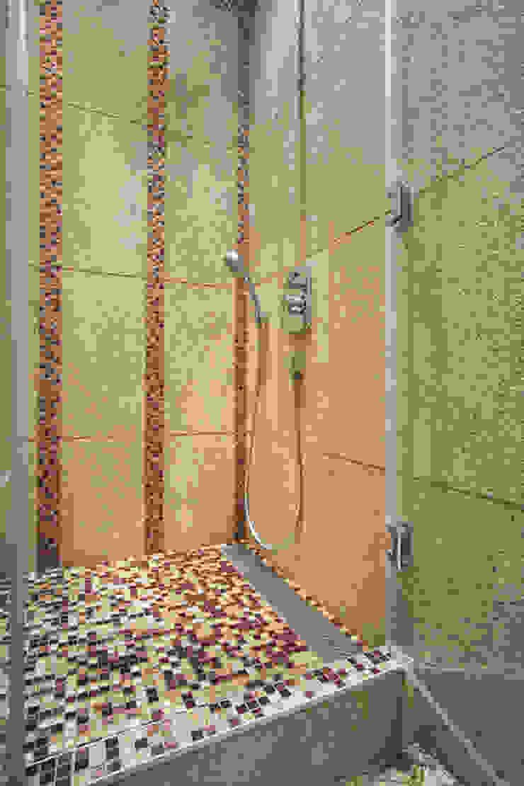 Квартира в Москве Ванная комната в эклектичном стиле от Дизайн-студия Екатерины Поповой Эклектичный