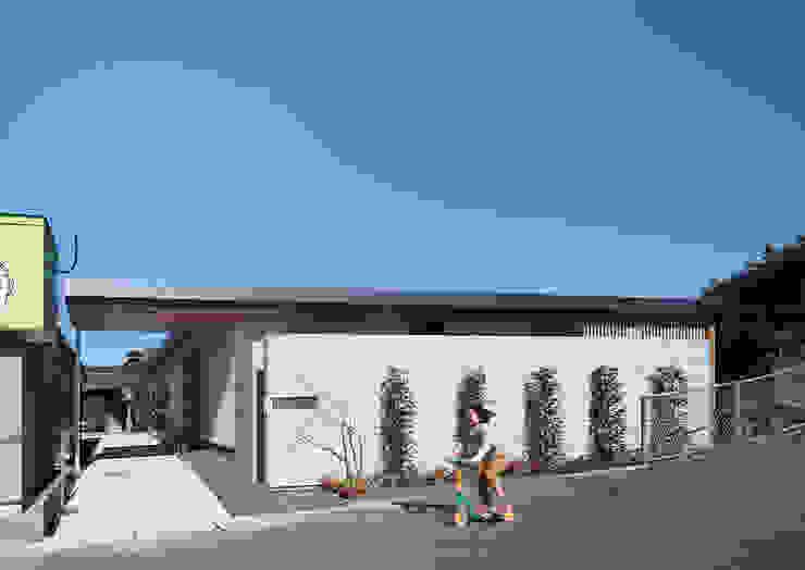 エクステリア外観 モダンな 家 の ISDアーキテクト/一級建築士事務所 モダン コンクリート