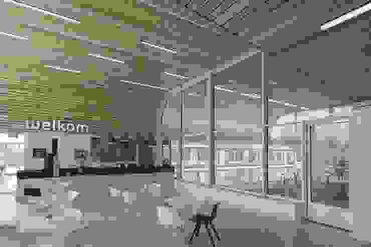 Massief houten systemen Moderne gezondheidscentra van Derako International B.V. Modern