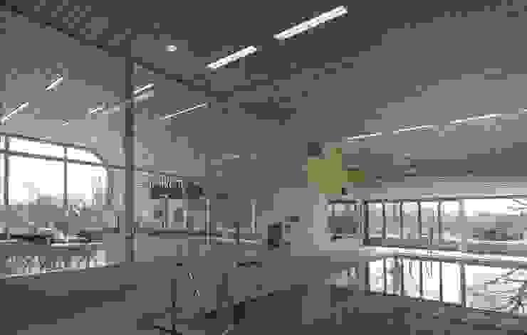 Massief houten systemen Moderne scholen van Derako International B.V. Modern