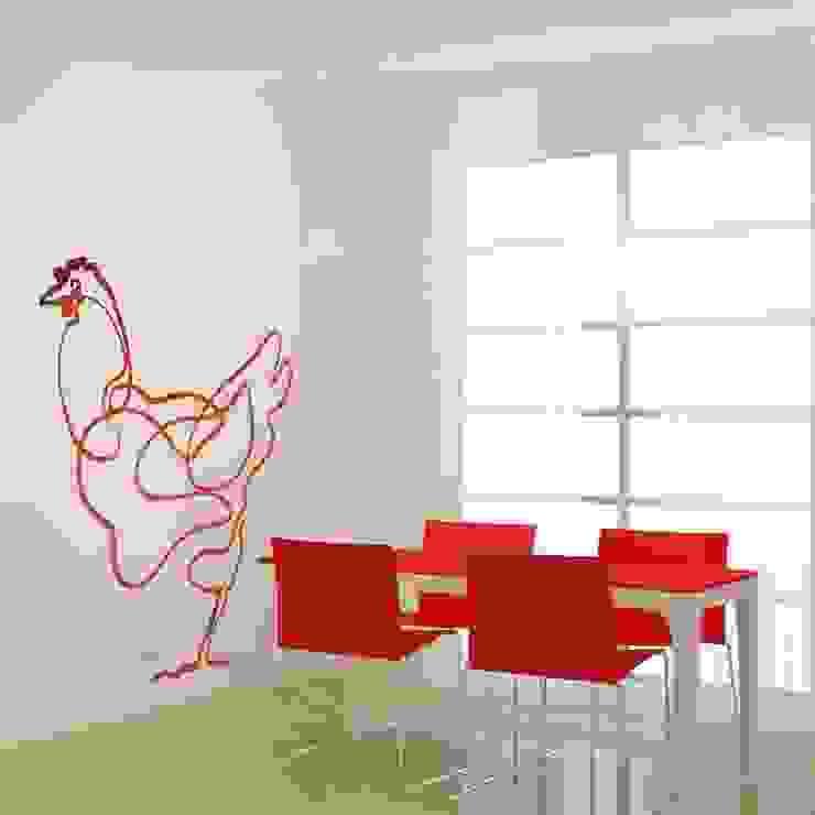 Dining room by Murales Divinos