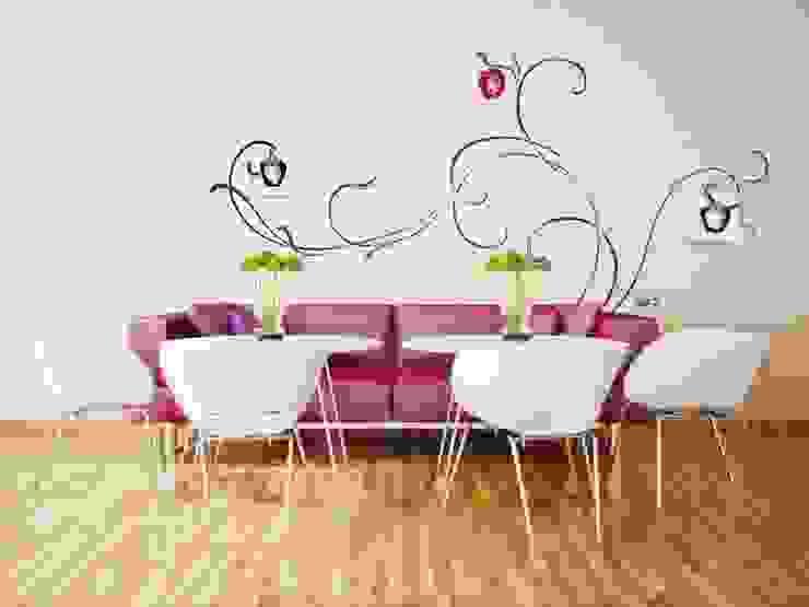 モダンデザインの リビング の Murales Divinos モダン