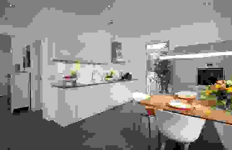 Projekty,  Kuchnia zaprojektowane przez Heinz von Heiden GmbH Massivhäuser,