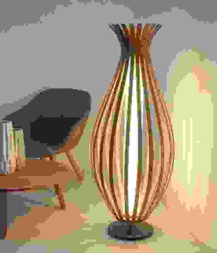 Lámpara de Pie Bambú de TusLámparasOnline Moderno