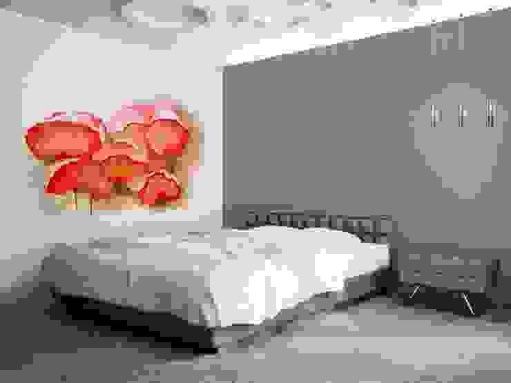 クラシカルスタイルの 寝室 の Murales Divinos クラシック