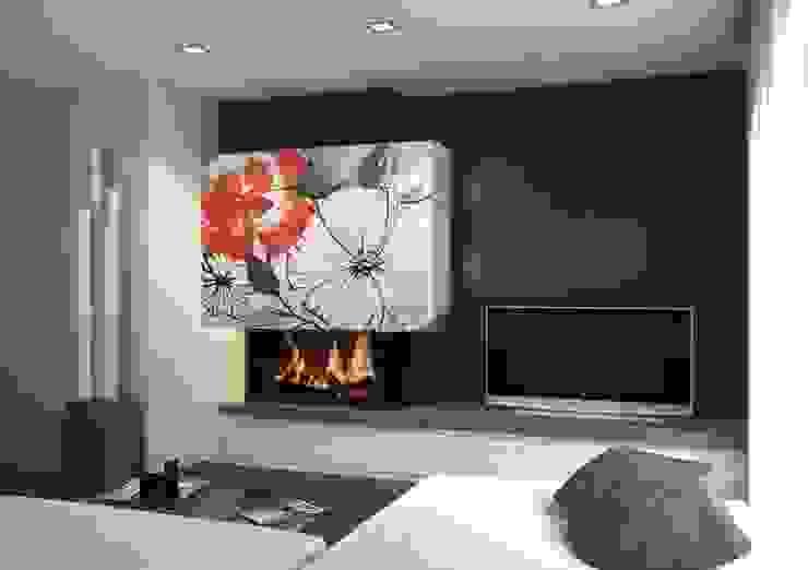 Modern living room by Murales Divinos Modern