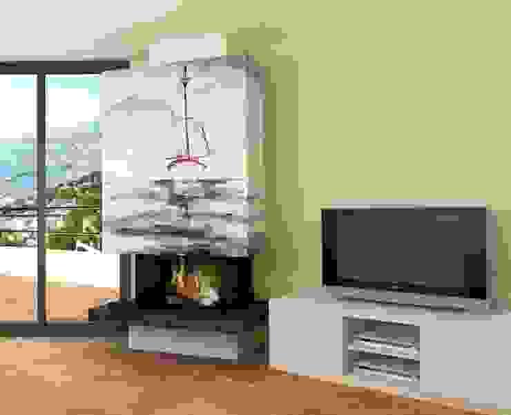 Ruang Keluarga Gaya Mediteran Oleh Murales Divinos Mediteran