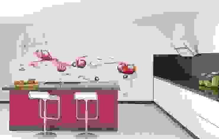 Nhà bếp phong cách hiện đại bởi Murales Divinos Hiện đại