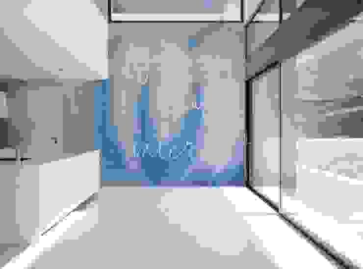 Agua Murales Divinos Cocinas de estilo moderno