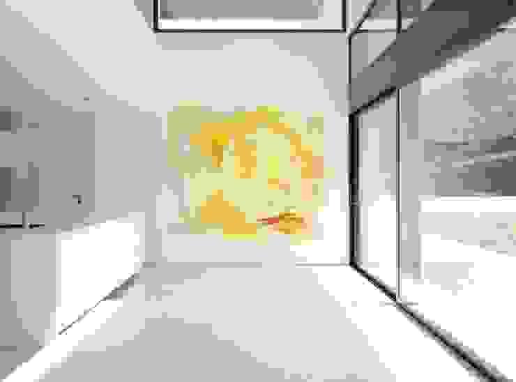 Limón Cocinas de estilo moderno de Murales Divinos Moderno