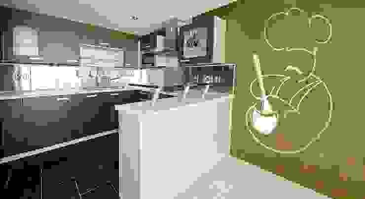Nhà bếp phong cách tối giản bởi Murales Divinos Tối giản