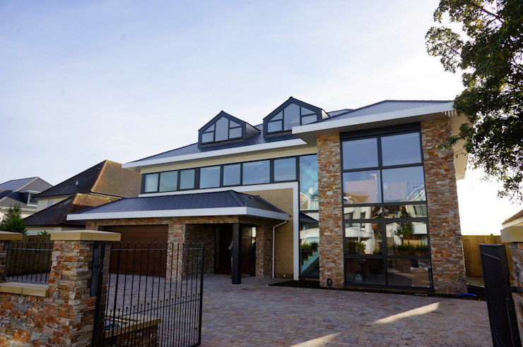 Alum Chine, Bournemouth Classic style houses by David James Architects & Partners Ltd Classic