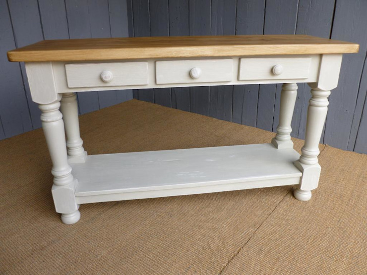 Bespoke Reclaimed Pine Console : classic  by UK Architectural Antiques , Classic Wood Wood effect