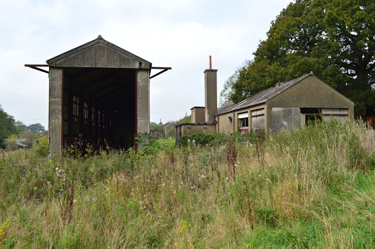 WW2 Structures at Existing Site in Surrey ArchitectureLIVE