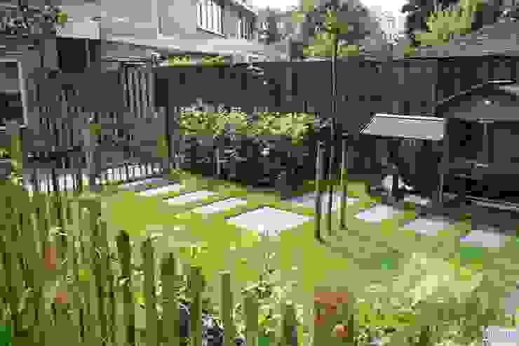 Sfeervolle lounge tuin Landelijke tuinen van Visser Tuinen Landelijk