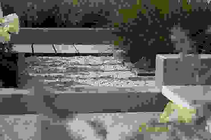 Strakke robuuste voortuin Moderne tuinen van Visser Tuinen Modern