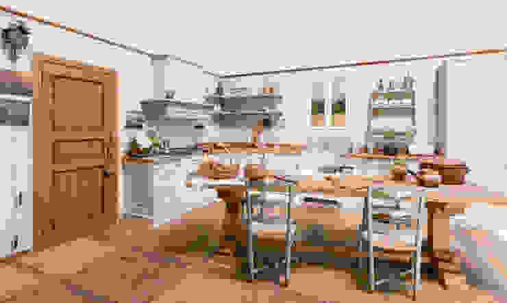 Cucina Magia di Porte del Passato Rustico