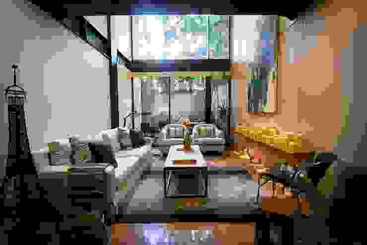 Phòng khách theo Concepto Taller de Arquitectura, Hiện đại