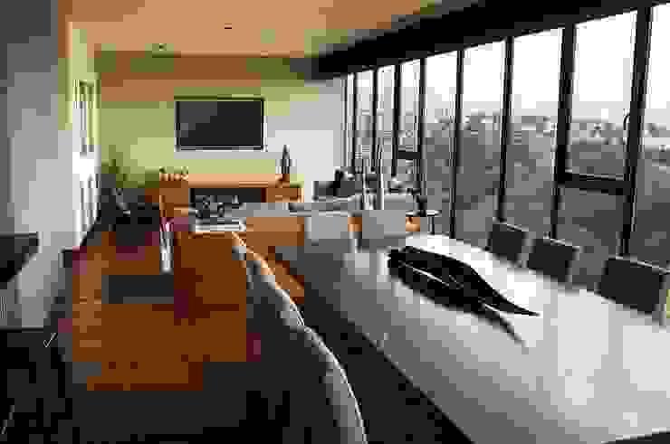 Столовые комнаты в . Автор – Concepto Taller de Arquitectura, Модерн