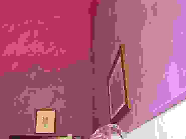 Bagno Stucco a Cera Viola Arte & Decorazioni di Marco Sinibaldi Bagno in stile classico