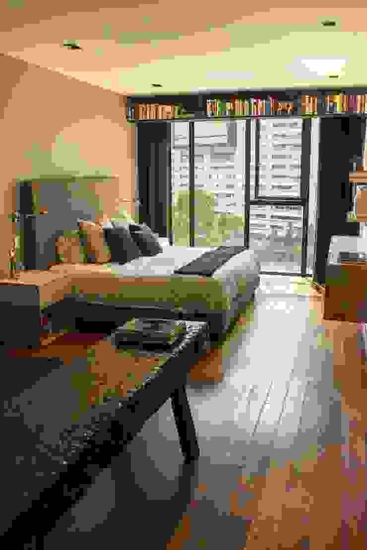 Departamento KL Dormitorios modernos de Concepto Taller de Arquitectura Moderno