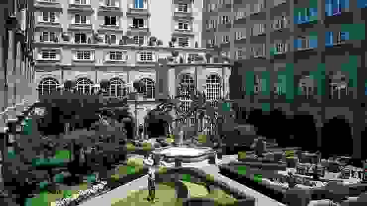 HOTEL FOUR SEASONS México Baños de estilo mediterráneo de Marmoles ARCA Mediterráneo