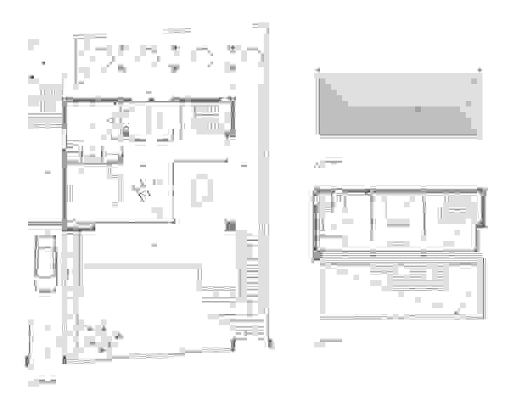 Correa + Estévez Arquitectura - Vivienda en la Quinta de CORREA + ESTEVEZ ARQUITECTURA Moderno