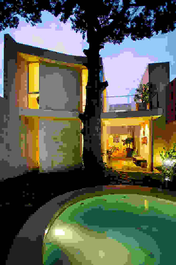 Casa del Arbol Taller Estilo Arquitectura Albercas modernas