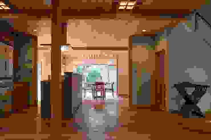 松井建築研究所 에클레틱 다이닝 룸