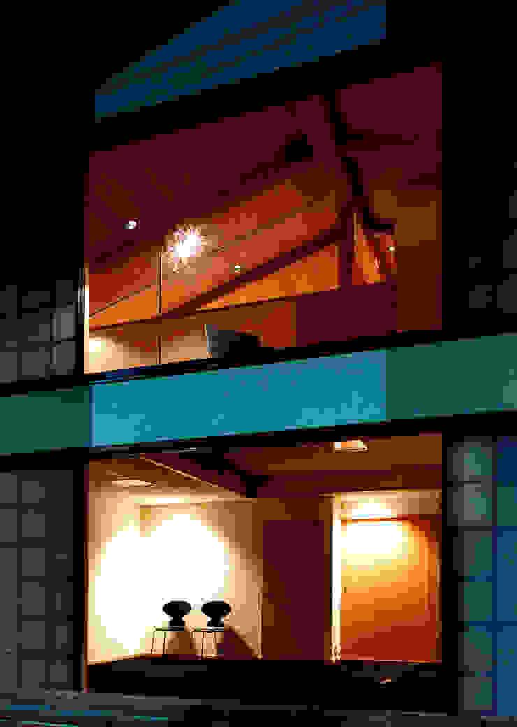 伽留羅-世田谷の事務所併用住宅- オリジナルな 家 の 松井建築研究所 オリジナル