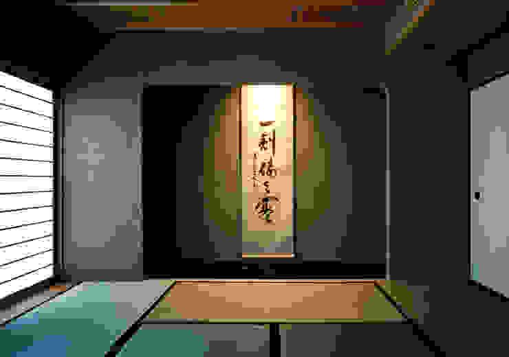 伽留羅-世田谷の事務所併用住宅- オリジナルな 壁&床 の 松井建築研究所 オリジナル