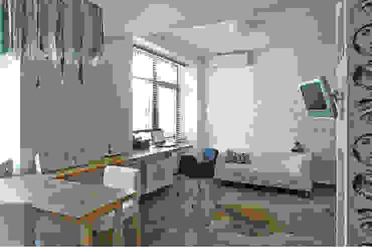 Living room by арХбабы, Industrial