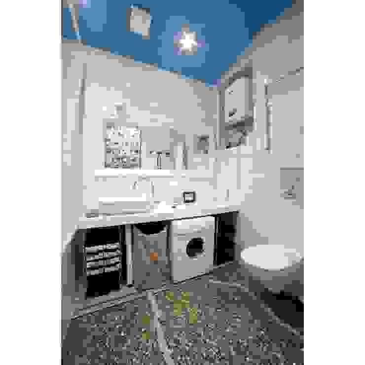 Ботаническая: Ванные комнаты в . Автор – арХбабы, Лофт